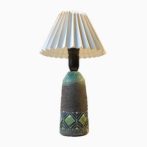 Mid-Century Swedish Ceramic Table Lamp from Tilgmans, 1960s