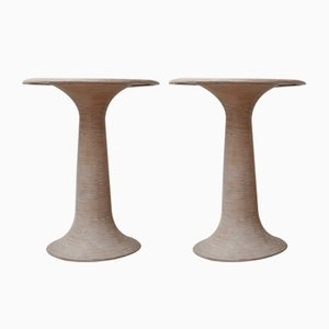 Mid-Century French Turned Side or Display Tables