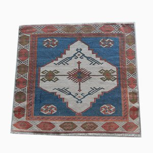 Small Turkish Square Rug or Mat
