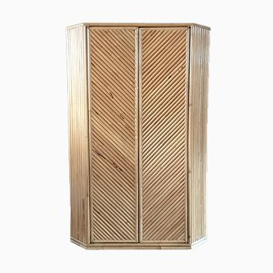 Mid-Century Bamboo Cabinet, 1960s