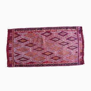 Vintage Turkish Geometric Kilim Rug