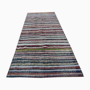 Anatolian Handmade Rag Rug, Turkey