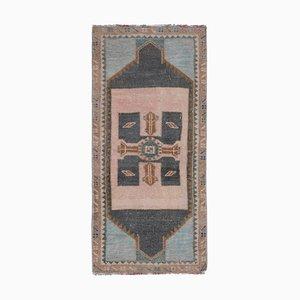 Vintage Oushak Teppich oder Matte