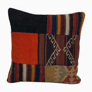Turkish Patchwork Kilim Cushion Cover