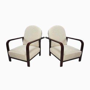 Verstellbare Sessel von Thonet, 1930er, 2er Set