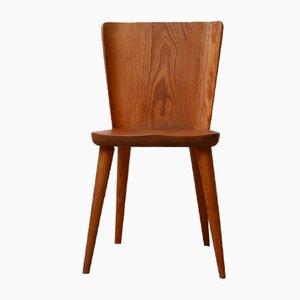 Mid-Century Pine Side Chair by Göran Malmvall for Svensk Fur
