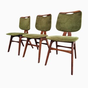 Vintage Chairs by Cees Braakman for Pastoe, 1950s, Set of 3