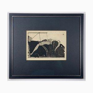 Horst Janssen, Cabinet Pieces, 1970, handsignierte Radierung