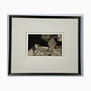 Horst Janssen, Signed by Hand, Limited and Framed