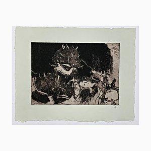 Horst Janssen, 1983, Hand Signed, Limited and Framed