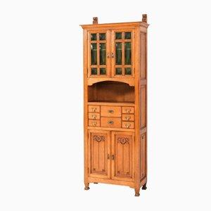 Arts & Crafts Art Nouveau Oak Cabinet by Kobus De Graaff, 1900s