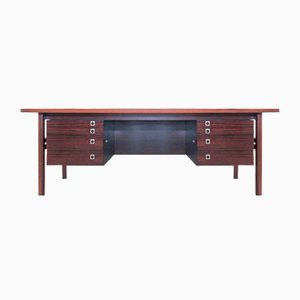 Large Rosewood Executive Desk by Arne Vodder for Sibast, 1960s