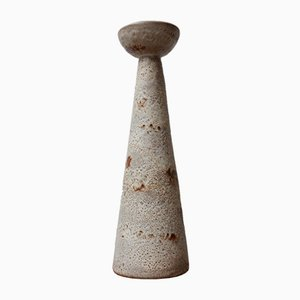 Belgischer Mid-Century Kerzenständer aus Keramik