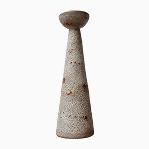 Mid-Century Belgian Ceramic Candlestick