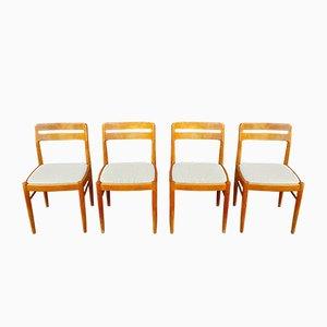 Teak Chairs by H.W. Klein for Bramin, Denmark, 1960s, Set of 4