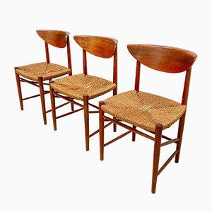 Model 316 Danish Teak Dining Chair by Peter Hvidt & Orla Mølgaard-Nielsen for Søborg Møbelfabrik, 1950s