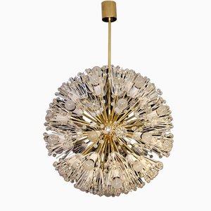 Lámpara de techo Snowball muy grande de Emil Stejnar para Rupert Nikoll, años 50