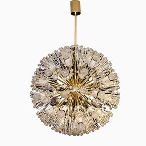 Very Large Snowball Ceiling Lamp by Emil Stejnar for Rupert Nikoll, 1950s
