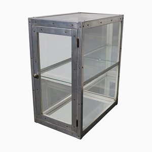 German Aluminium Museum / Shop Display Cabinet, Mid 20th Century