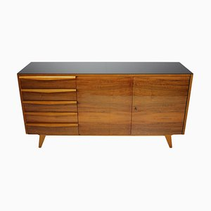 Mid-Century Upcycled Sideboard on High Gloss, 1960s