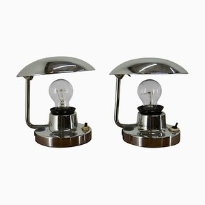 Type 1195 Table Lamps from Napako, 1940s, Set of 2