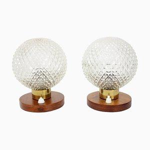 Table Lamps by Kamenický Šenov, 1970s, Set of 2