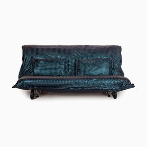Canapé Calin Bleu en Tissu de Ligne Roset