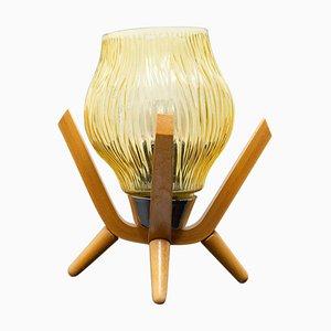 Mid-Century Table Lamp from Drevo Humpolec, Czechoslovakia, 1960s