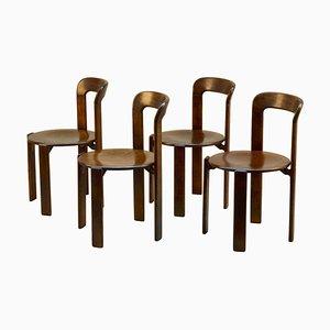 Bauhaus Dining Chairs by Bruno Rey, Set of 4