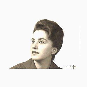 Unknown, Liselotte Hammes Autographed Photocard, 1962