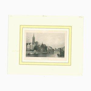 Unbekannt, Straßburg, Original Lithographie, Mitte 19. Jh