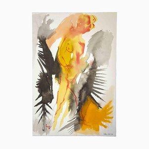 Leo Guida, Sybil und Knight, Originalzeichnung, 1970er