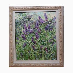 Georgij Moroz, Lilac Flowers, Öl auf Leinwand, 2005