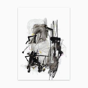 Oscillating Resonance, Abstraktes Gemälde, 2021