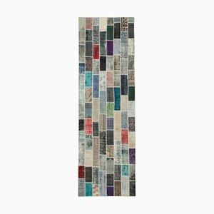 Multicolor Patchwork Runner Rug