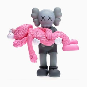 KAWS, Gone, Graue Version, Collectible Pop Art, 2019