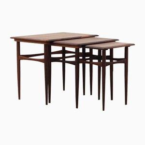 Palisander Tische, Dänemark, 1960er