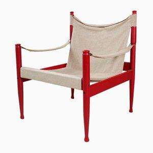 Safari Chair by Erik Wørts for Niels Eilersen, 1960s