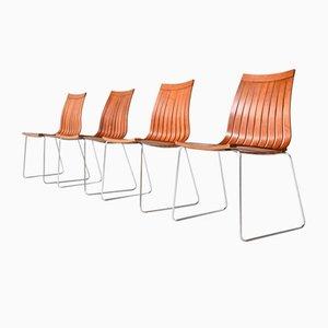 Esszimmerstühle Tynes von Kjell Richardsen Tönnestav für Furniturefabrik Norway, 1960er, 4er Set