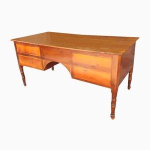 Solid Walnut Desk, Italy, 1830s