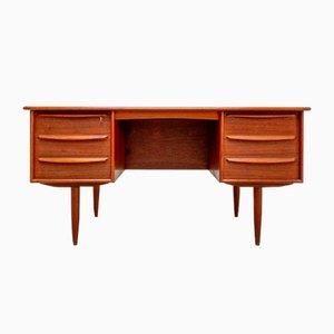 Danish Vintage Teak Writing Desk by Svend Å. Madsen for Falster, 1960s