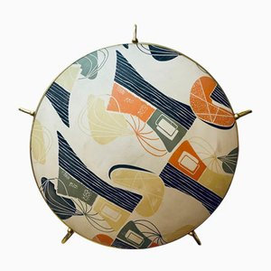 Large Mid-Century Colorful Ceiling Lamp from Erco, 1950s