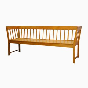 Large Beech Bench, 1960s