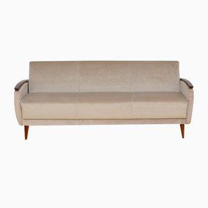 Mid-Century Velvet Sofa or Daybed, 1960s