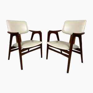 Mid-Century Scandinavian Style Easy Chairs by Cees Braakman for Pastoe, Set of 2