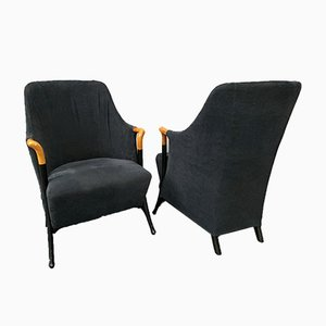 Modell Progetti 63340 Sessel von Umberto Asnago für Giorgetti, Italien, 1980er, 2er Set