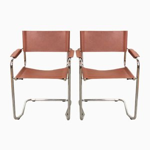 Italian Space Age Dining Chairs, 1970s, Set of 2