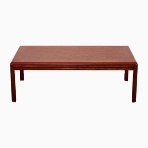 Mid-Century Danish Brazilian Solid Rosewood Coffee Table by Henning Oddense for Mobelfabrik, 1960s