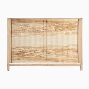 Rolleta Cabinet 100 with Tambour Door by Futuro Studio