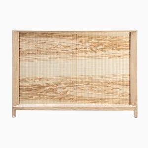 Mueble Rolleta 100 con puerta de persiana de Futuro Studio